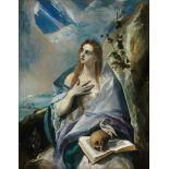 El Greco - The Penitent Magdalene