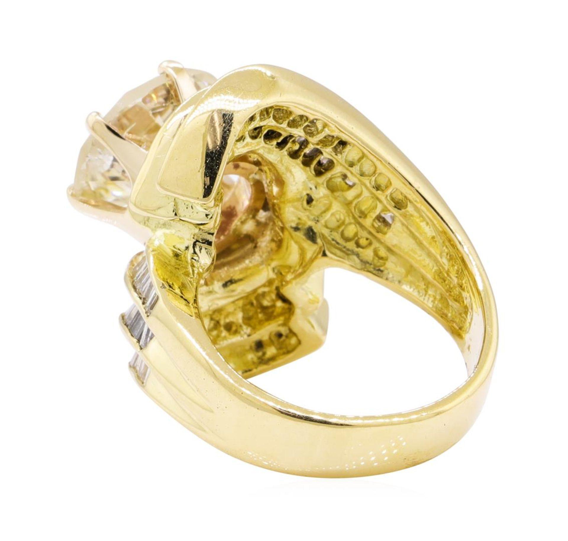 7.51 ctw Diamond Ring - 18KT Yellow Gold - Image 3 of 5