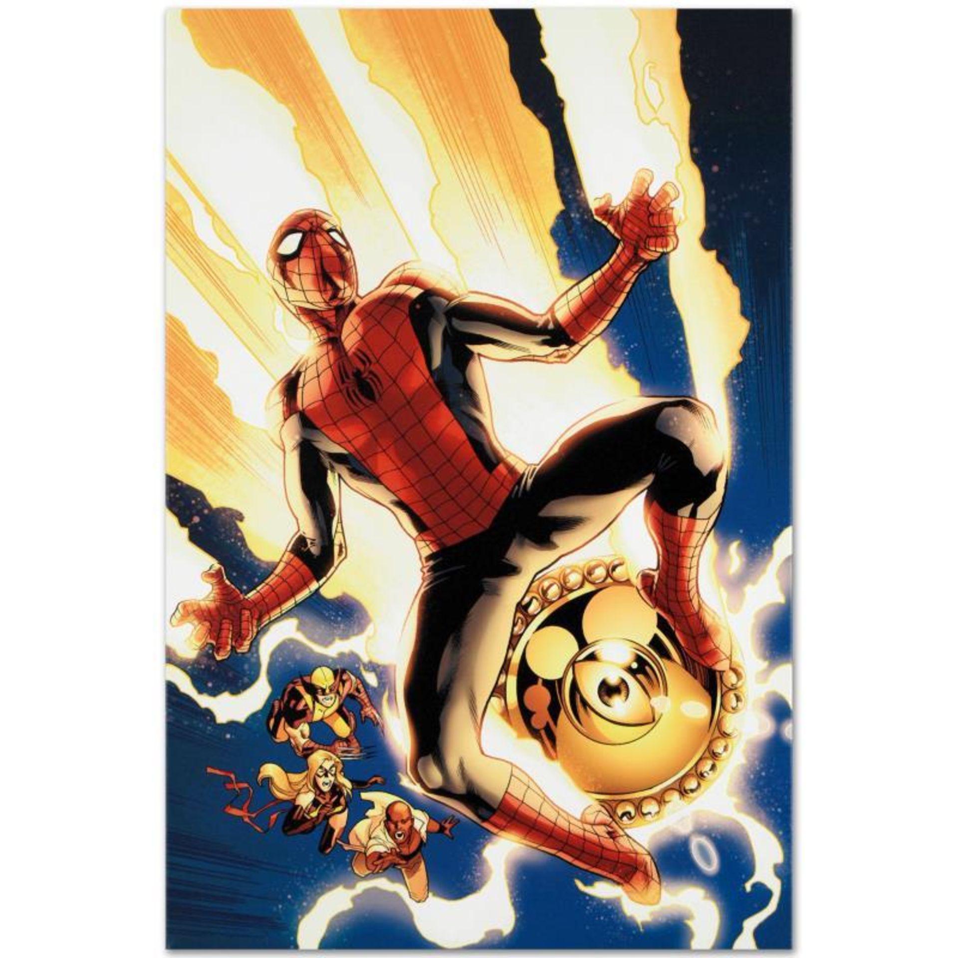 New Avengers #4 by Marvel Comics