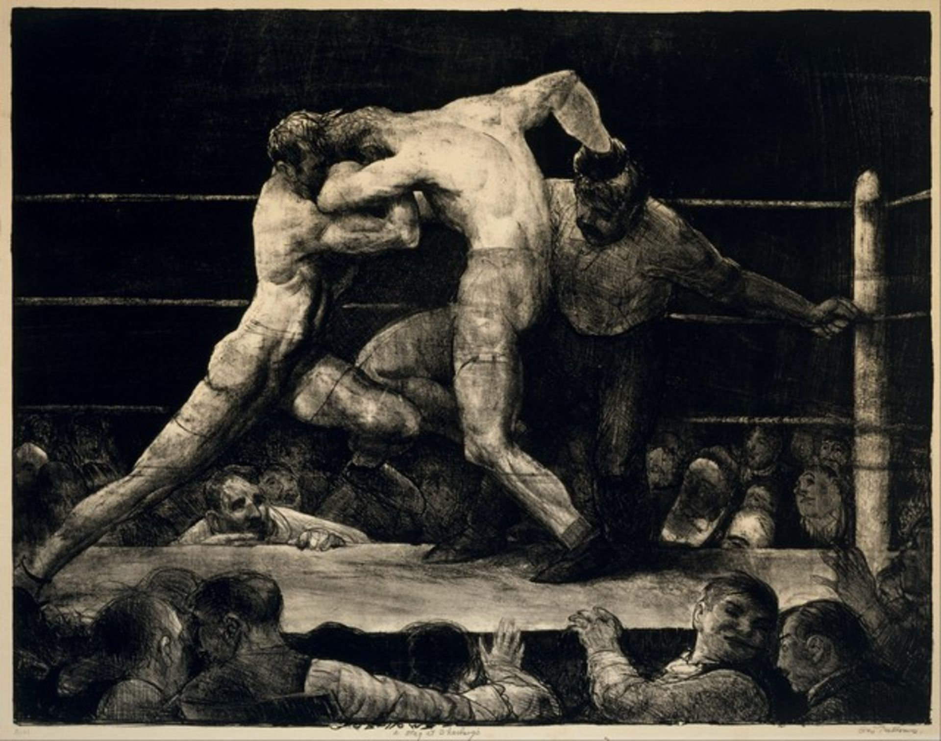 George Bellows - A Stag at Sharkeys