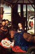 Martin Schongauer - Birth of Christ