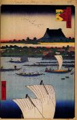 Hiroshige - Honganji Temple