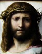 Correggio - Head of Christ