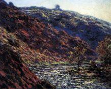 Claude Monet - Gorge of the Petite Creuse