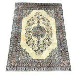 Persian Kashan ground rug