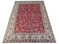 Large Fine Persian Kashan rug