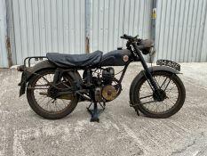 Francis Barnett Charity Auction Bike