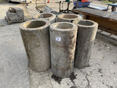 5 x Concrete pipe