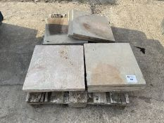 Qty Paving slabs