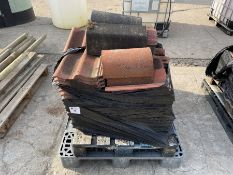 Qty Clay pan tiles and ridging tiles