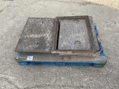 Qty Manhole covers