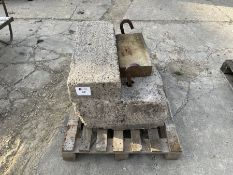 Concrete weight block
