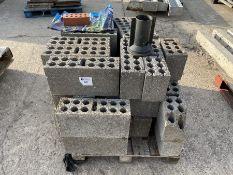 Qty Concrete blocks