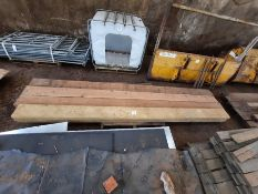 10 x Timber scaffold boards