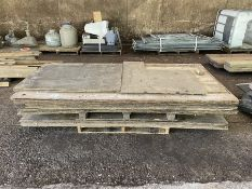 2 x Pallets plywood sheets