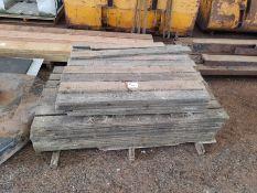 Qty Sawn timber lengths 4' x 1'