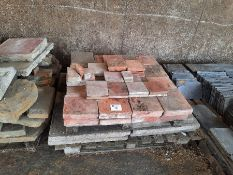 Qty flag stones, quarry tiles and 5 x concrete paving slabs