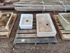 Belfast sink and Ceramic sink