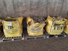 3 x bags of local stone