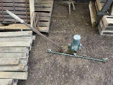 Vintage Sprayer and Hand Pump