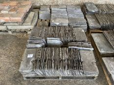 """2 x Pallets roof slate tiles approx 16"""" x 8"""""""
