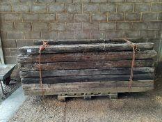 Qty Timber railway sleepers