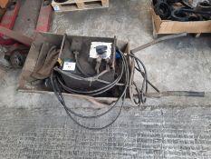 The Cambridge V180 oil cooled electric welder