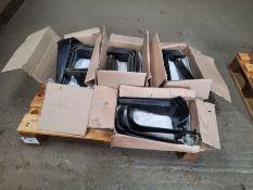 Qty of spare power harrow parts