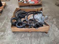 Qty of pig tail tine spares