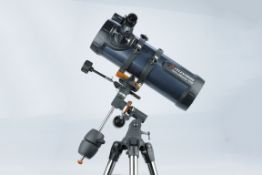 Celestron AstroMaster 114 EQ Newtonian Telescope
