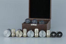 Cased Set Of Watson Microscope Apo Objectives,