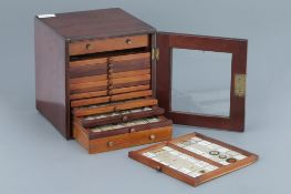 Microscope SlideCabinet & Slide Collection,
