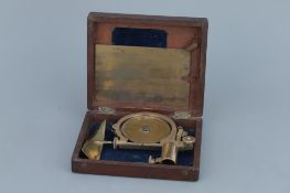 A Lacquered Brass Water Current Meter,