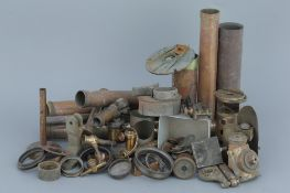 A Selection of Various Brass Microscope & Telescope Parts,