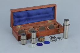 A Set of Zeiss Microscope Eyepieces,