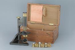 A Beck Star Microscope,