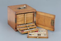 Small Cabinet of Microscope Slides,