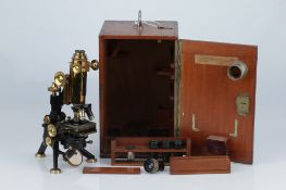 A Watson 'Royal' Microscope,