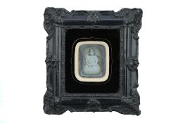 A Sixth-Plate Daguerreotype of A Young Girl,