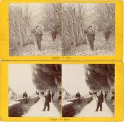 Two Stereoviews of Photographers,