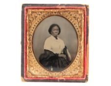 An Ambrotype of an African-American Woman,