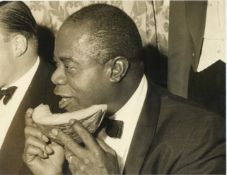 A Photograph of Louis Armstrong,