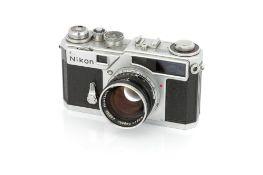 A Nikon SP Rangefinder Camera,