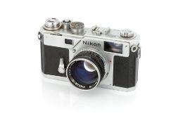 A Nikon S3 Rangefinder Camera,