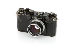 A Nikon S2 'Chrome Dial' Rangefinder Camera,