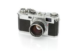 A Nikon S2 Rangefinder Camera,