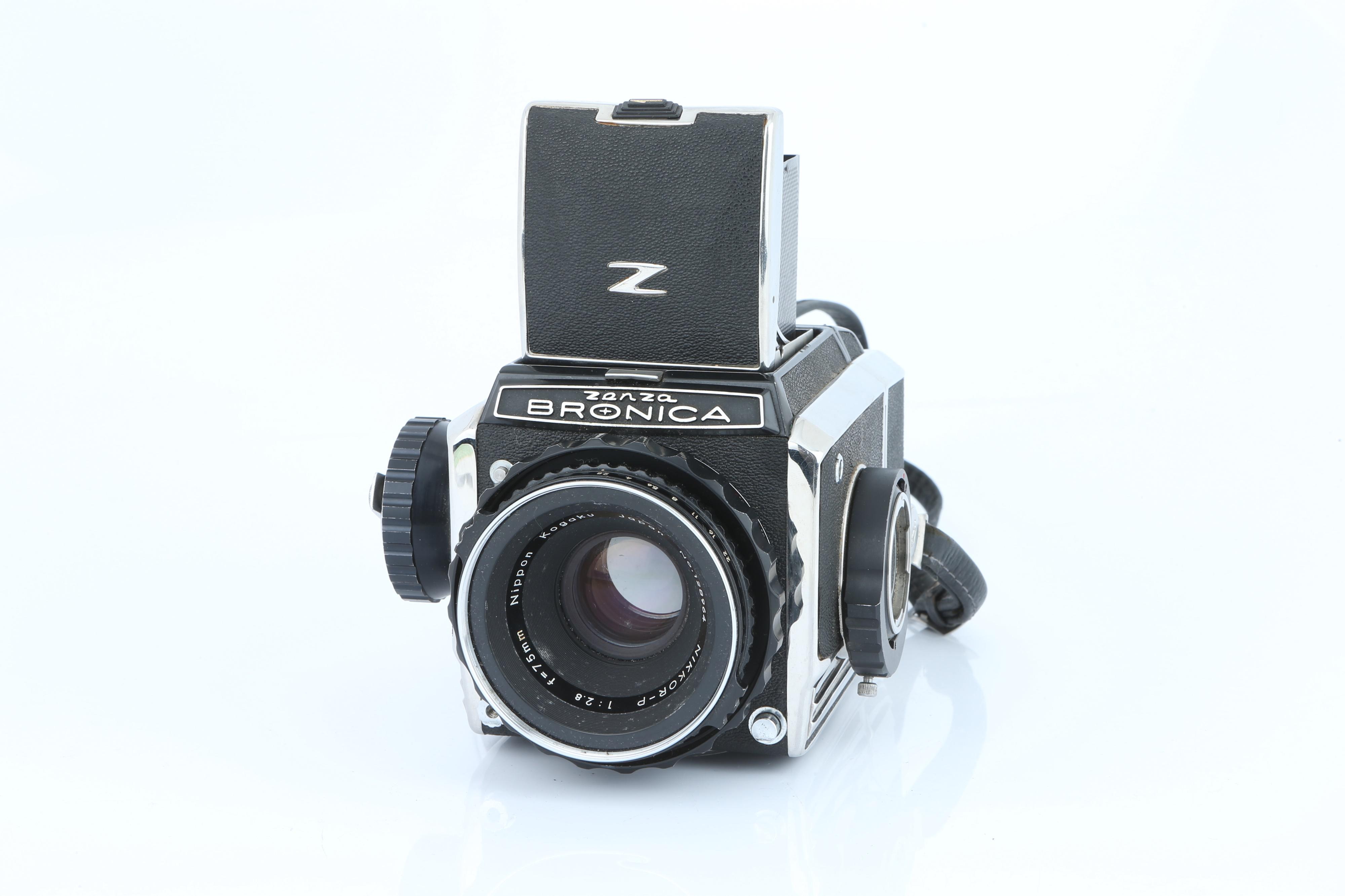 A Zenza Bronica S2A Medium Format Camera,