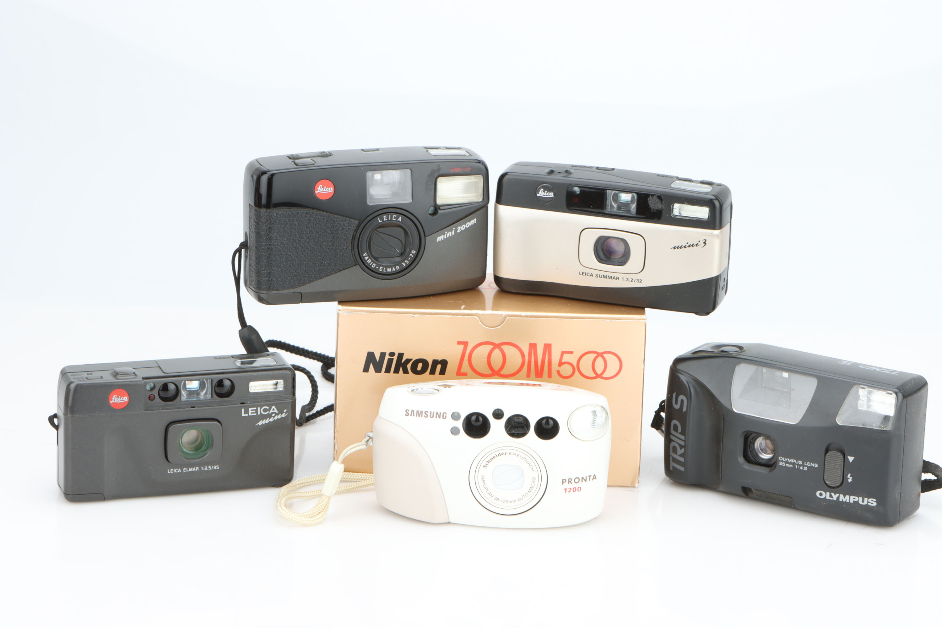 * A Selection of Compact Cameras,