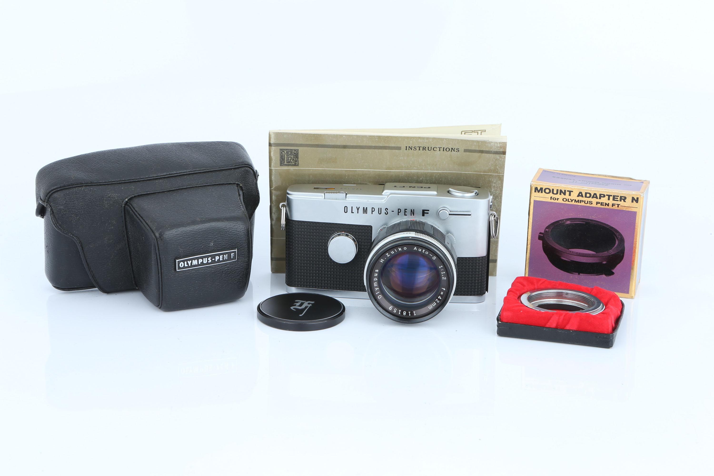 An Olympus Pen-FT Camera,