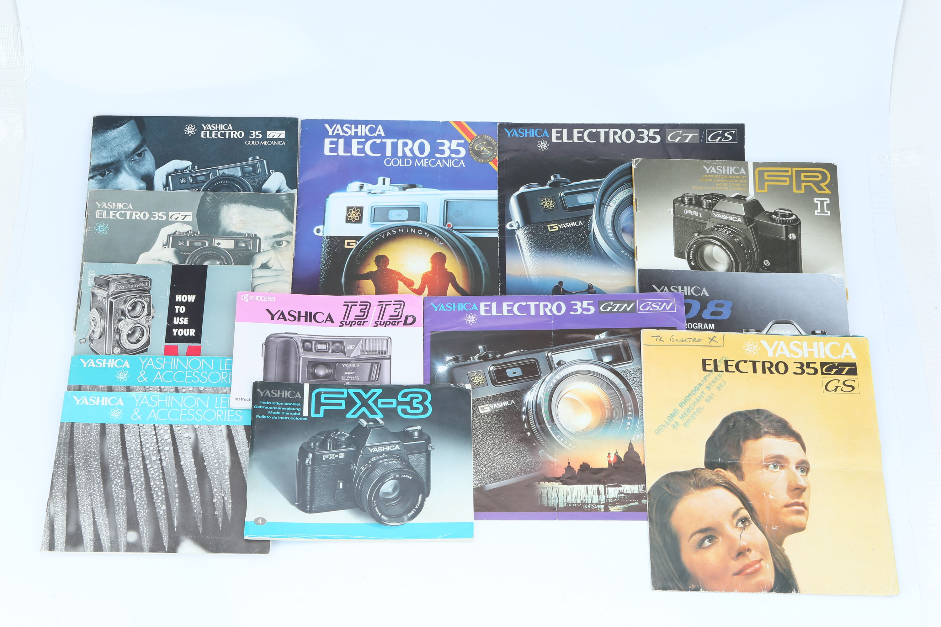 A Selection of Yashica Literature,